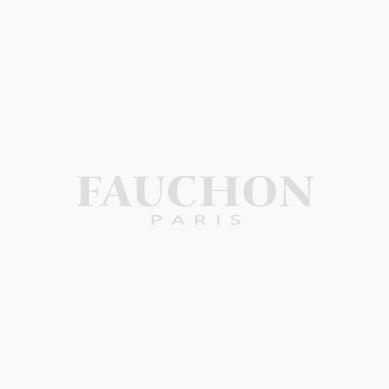 FAUCHON magenta and white mug