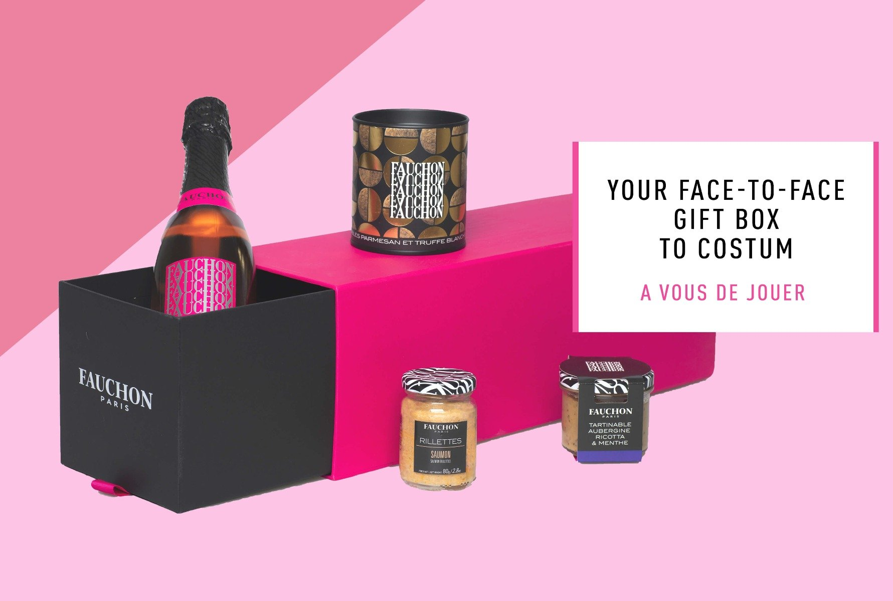 Face-to-face gift box