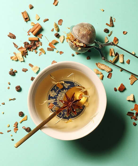 The different types of teas and infusions