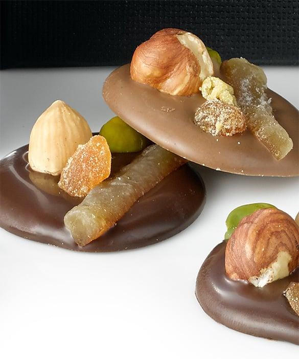 Les mandiants au chocolat de la maison