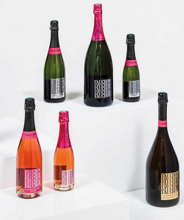 offrir du champagne Fauchon