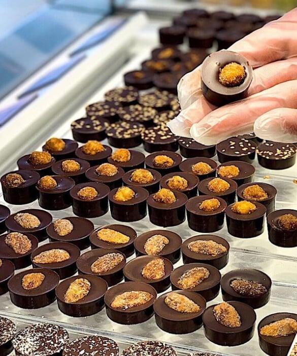 Our luxury chocolates