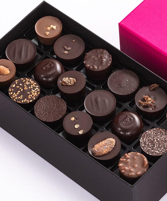 Les chocolats originaux Fauchon