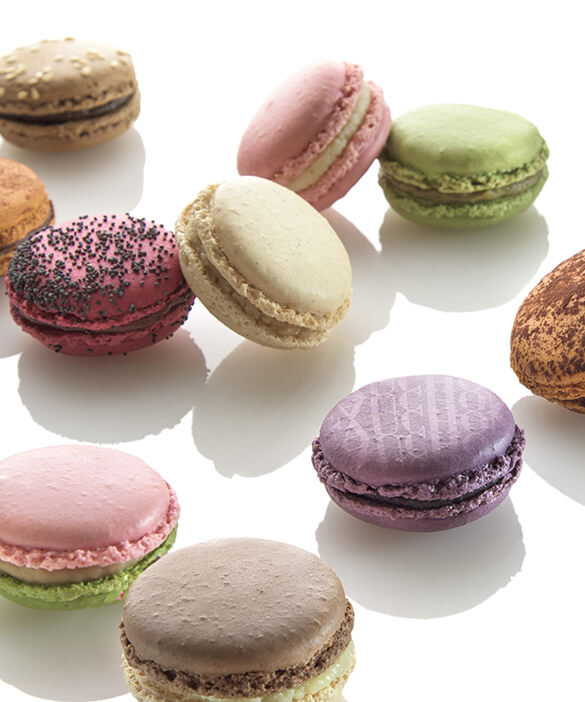 The macarons Signature : Tea