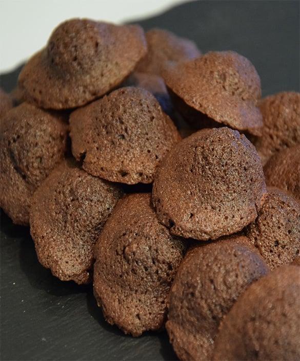Recette de la madeleine au chocolat et au miel